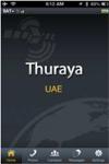 Ecran d'accueil Thuraya SatSleeve